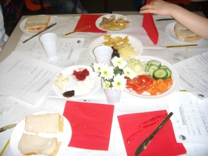 Making food using fractions knowledge