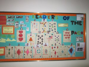 Leader of the pack display