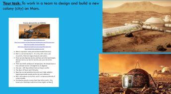 Art project MARS Colony Term 1 2019