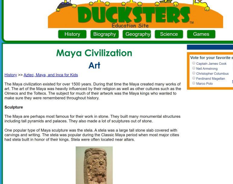 Ducksters Ancient Mayan Art.JPG